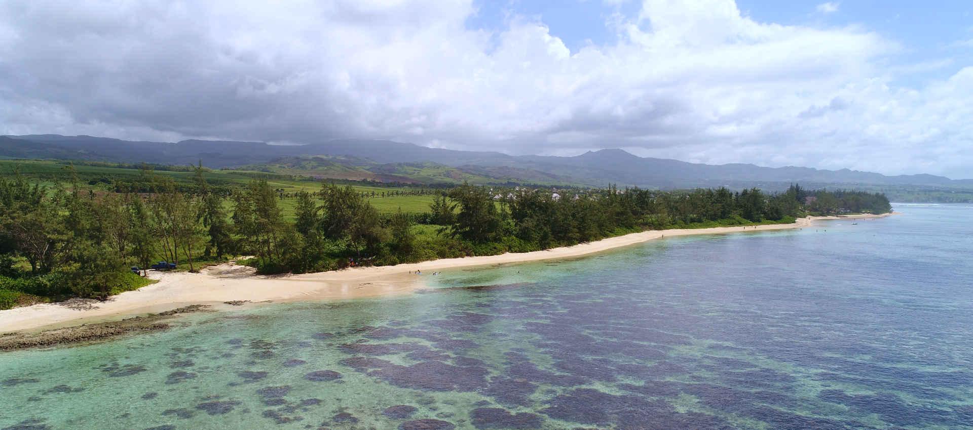 Plage de Bel Ombre à l'Ile Maurice