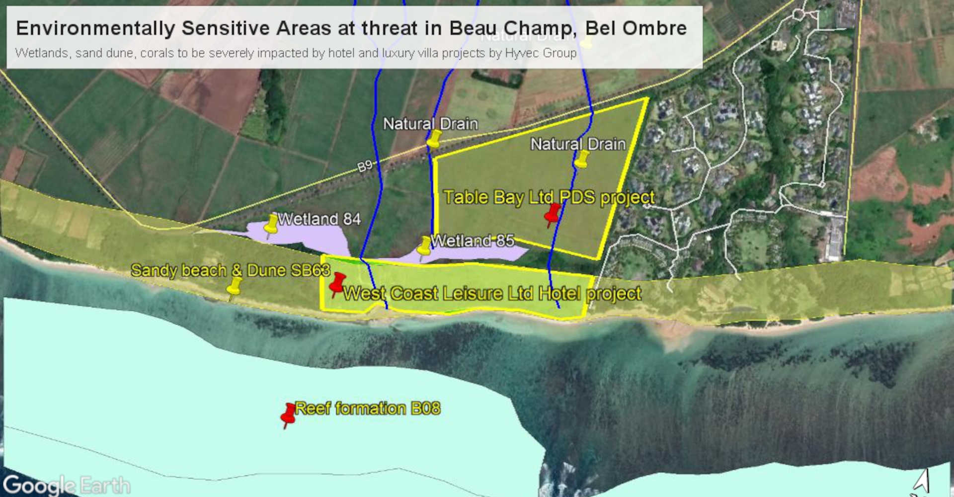 development projects in Bel Ombre, Mauritius