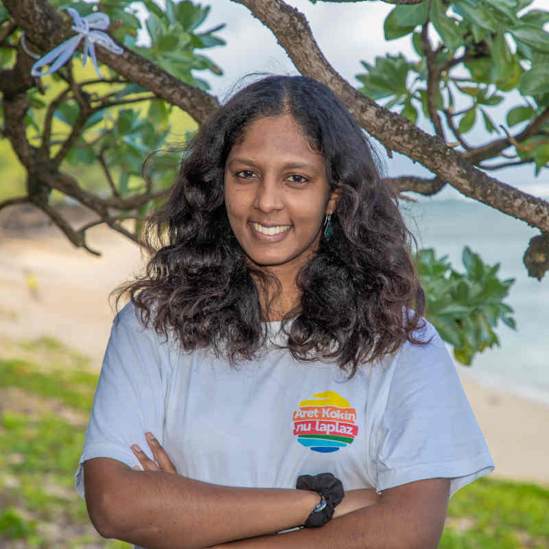 Carina Gounden Mauritius